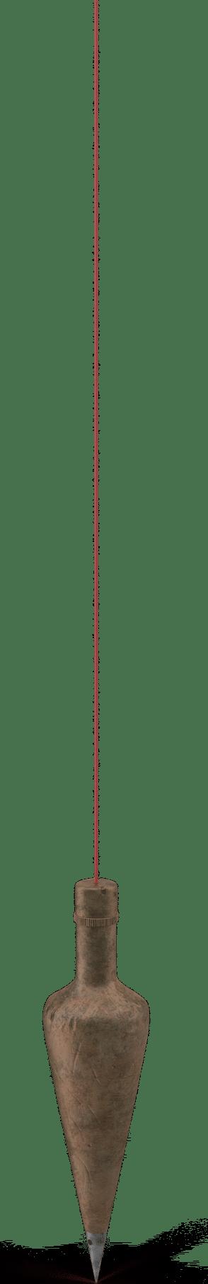 Vintage Plumb With Old String.H03.2k (1)